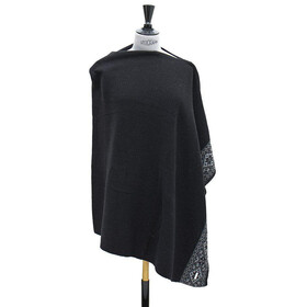 Sätila of Sweden Grace Poncho, black